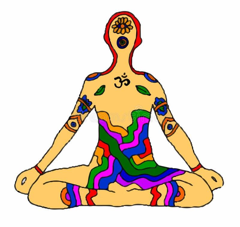 man meditating στοκ φωτογραφίες