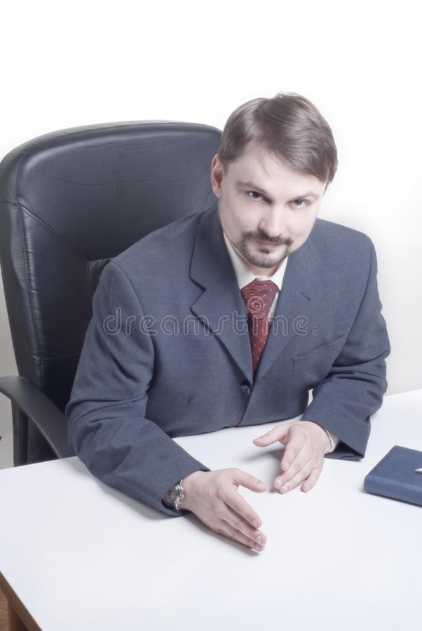 Man  In The Meeting Stock Photo