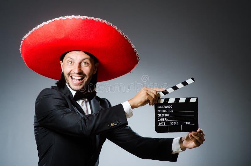man mexikanen arkivbild