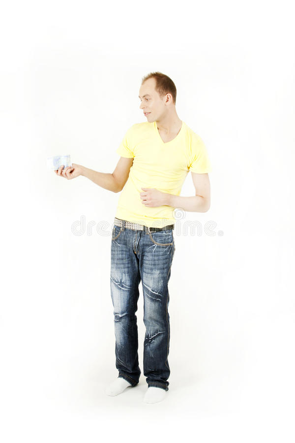 Download Man With Money Royalty Free Stock Image - Image: 24865326