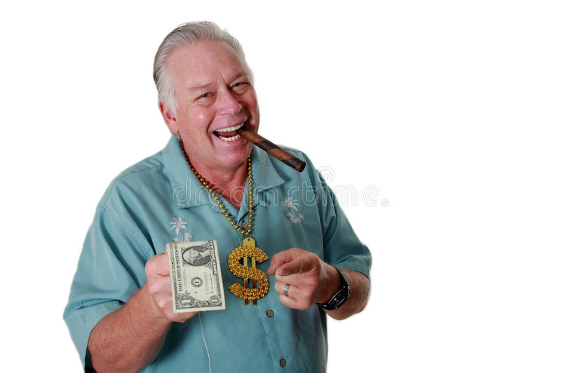 A man with money. A man wins money. A man has Money. A man Sniffs Money. A man Loves Money. A man and his money. A man is Rich. A royalty free stock photos