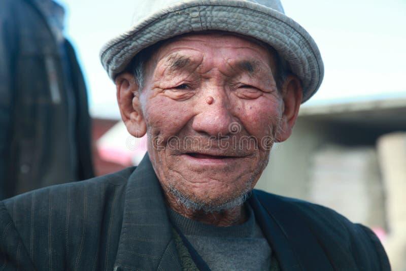 The man Mongolian stock image