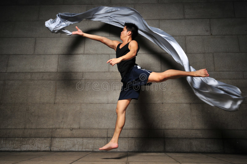 Download Man in Motion 12 stock image. Image of leap, asian, jumping - 6092449