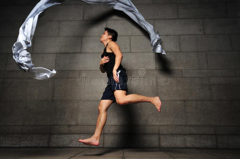 Download Man in Motion 14 stock photo. Image of express, artistic - 6092530