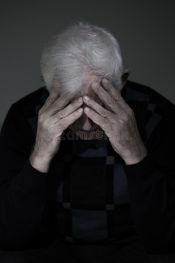 Free Man Mourning His Lost Love Stock Photography - 50278632