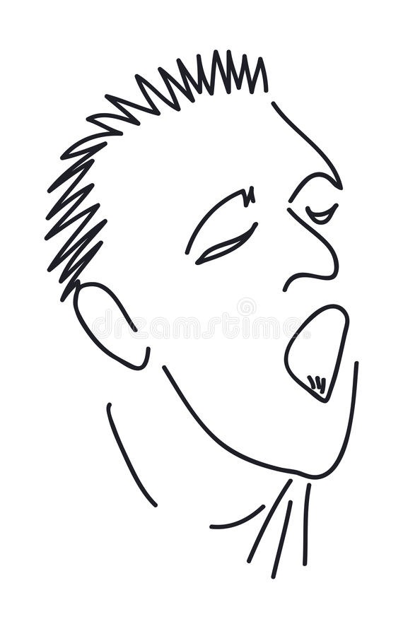 Download Man With Mouth Open Stock Photo - Image: 25765260