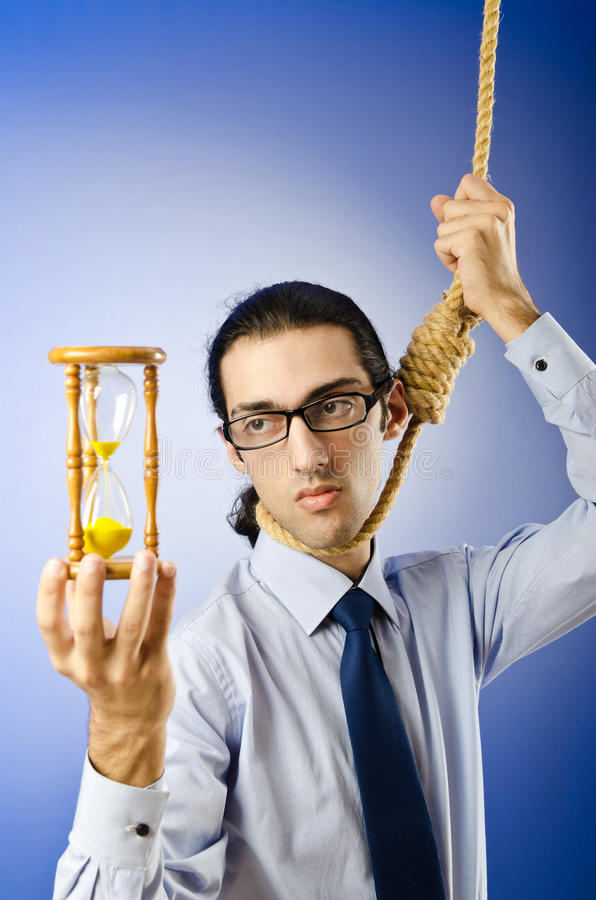 Download Man With Noose Around  Neck Stock Photo - Image of neck, background: 22780626