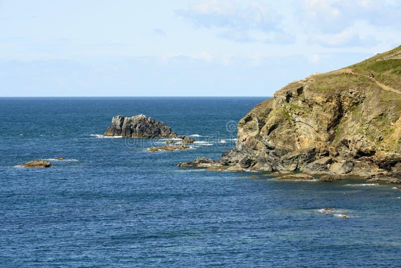 Man O\'War Rocks At Lizard Point, Cornwall Stock Image - Image of ...
