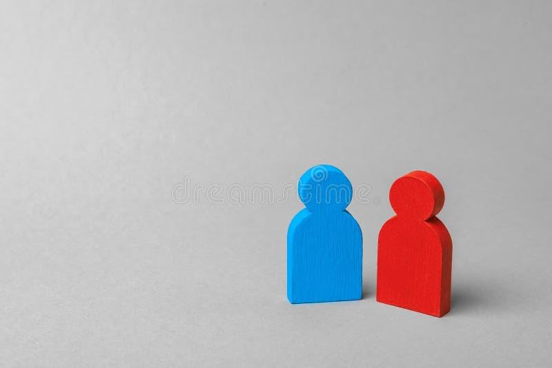 Man och kvinna eller affärspartners arkivfoton