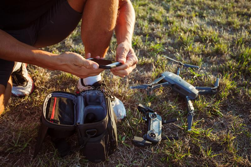 modern gadgets royalty free stock photography