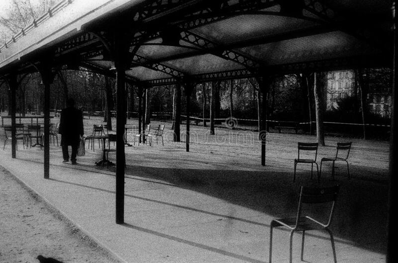 Man In Paris Black And White Free Public Domain Cc0 Image