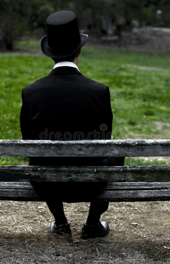 Download Man From The Past stock image. Image of scene, outdoors - 15350313