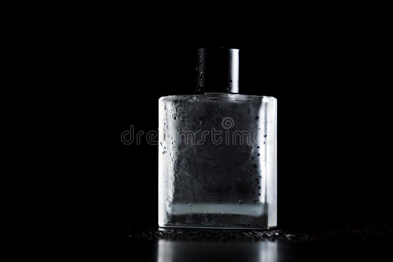 Man perfume stock photo