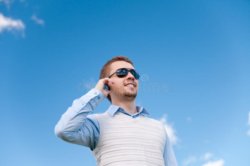 Download Man With Phone Royalty Free Stock Photo - Image: 14981245