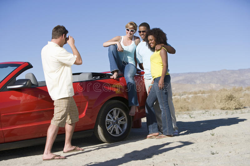 Download Man Photographing Friends stock photo. Image of african - 29651040