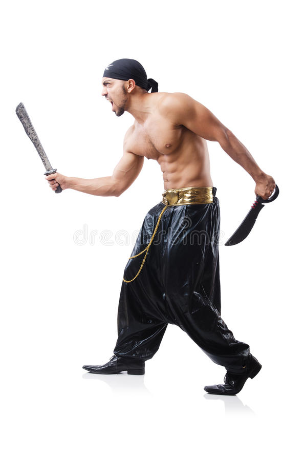 Download Man In Pirate Costume Royalty Free Stock Image - Image: 33346386
