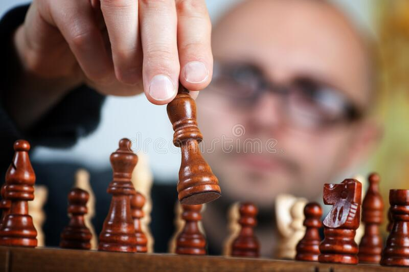 Man Playing Chess Free Public Domain Cc0 Image