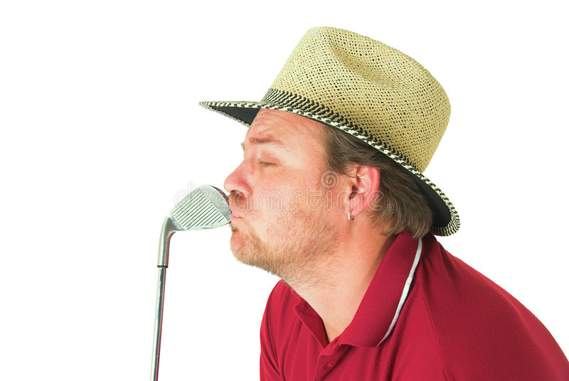 Download Man playing golf #1 stock image. Image of shirt, stance - 1572059