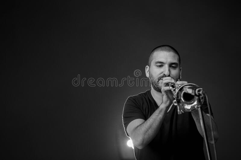 Man Playing Trumpet Free Public Domain Cc0 Image
