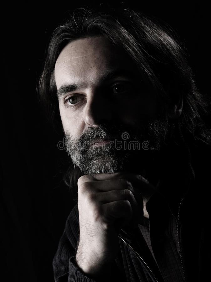 Download Man portrait stock image. Image of confident, face, expression - 13059545