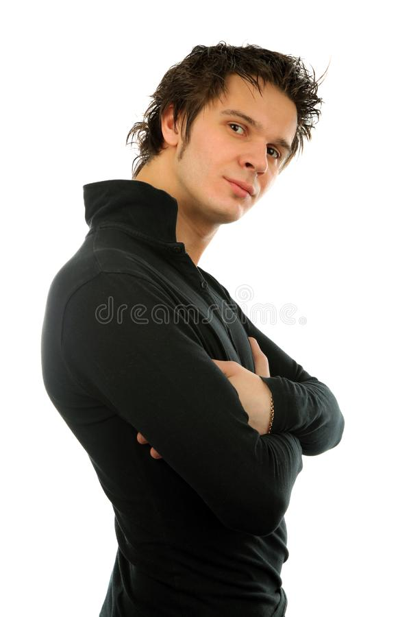 Man portrait royalty free stock photos