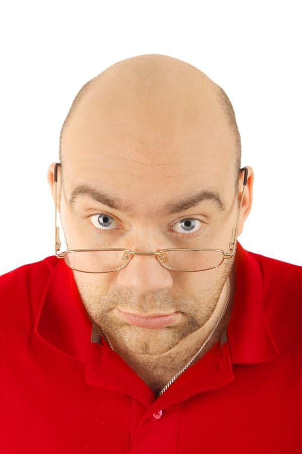 Download Man portrait stock image. Image of eyeball, glasses, caucasian - 14218179