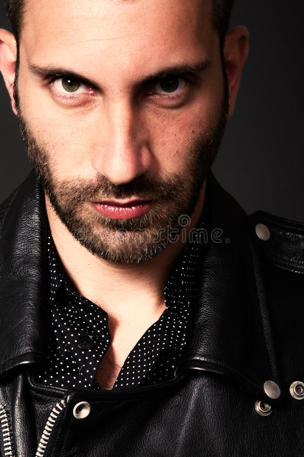Download Man portrait stock photo. Image of looking, male, beauty - 26448424
