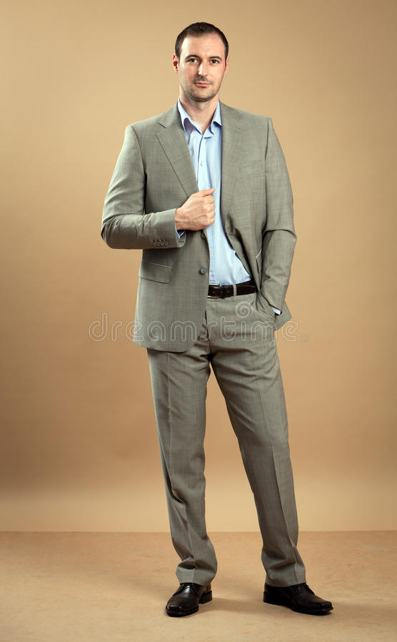 Download Man Portrait stock photo. Image of fashion, handsome - 26538652