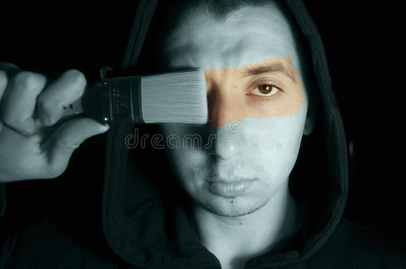 Man Portrait. Stock Photos
