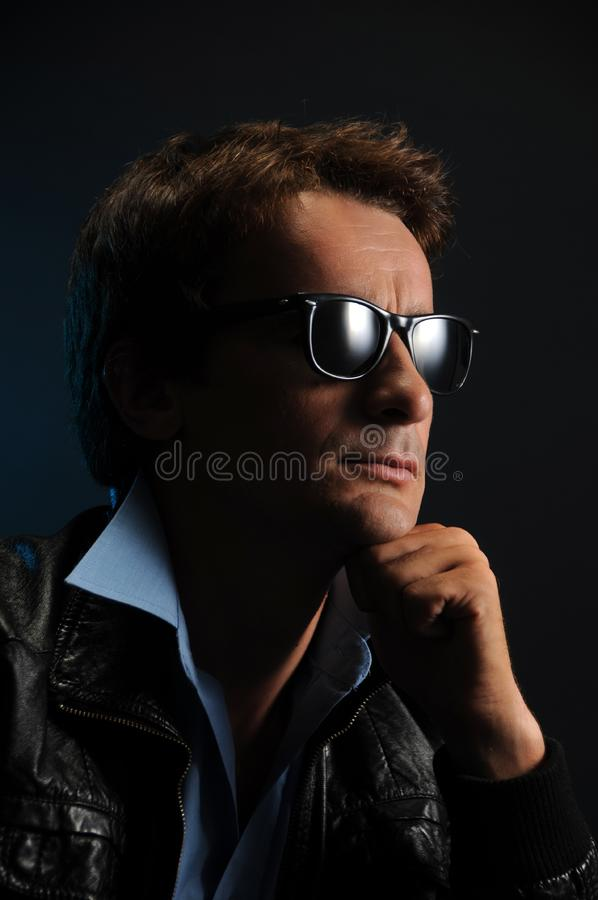 Man portrait royalty free stock image