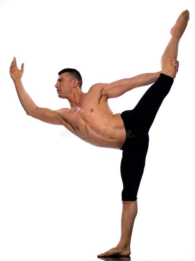 Download Man Portrait Gymnastic Acrobatics Balance Stock Image - Image: 22306739
