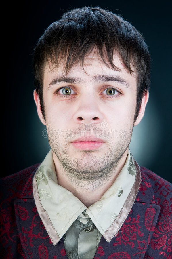 man portrait stylish young στοκ εικόνα