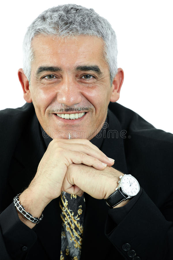 man portrait thinking στοκ εικόνα