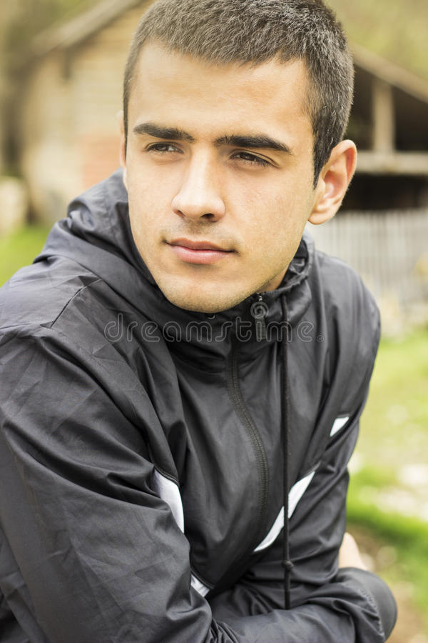 man portrait young στοκ φωτογραφίες με δικαίωμα ελεύθερης χρήσης