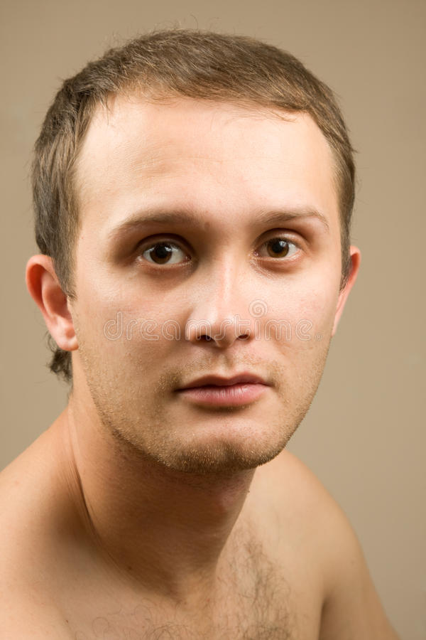Man portret royalty-vrije stock foto