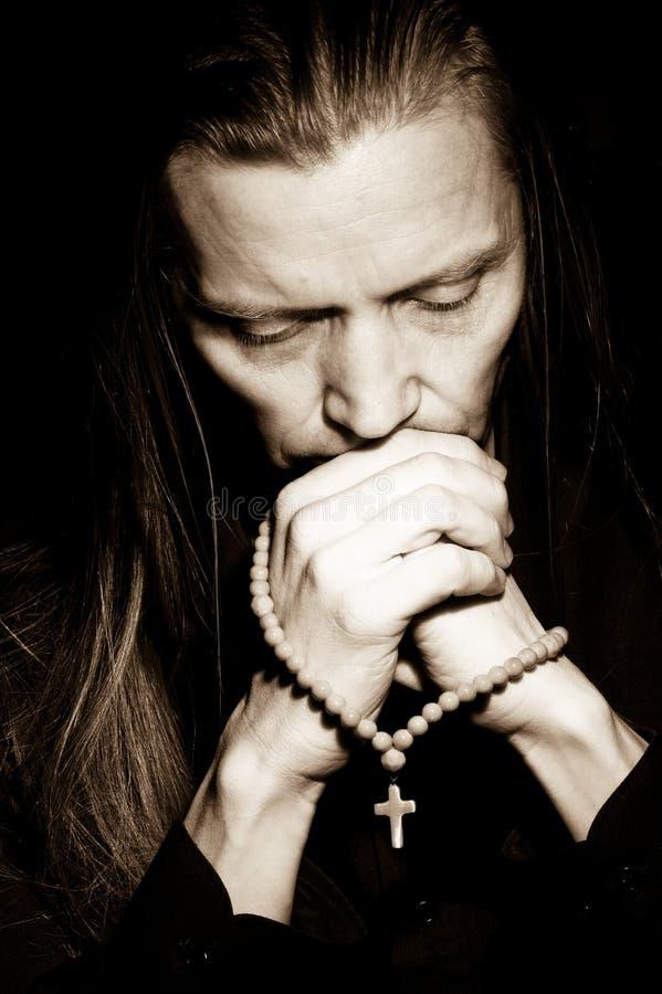Free Man Praying Stock Image - 14587511