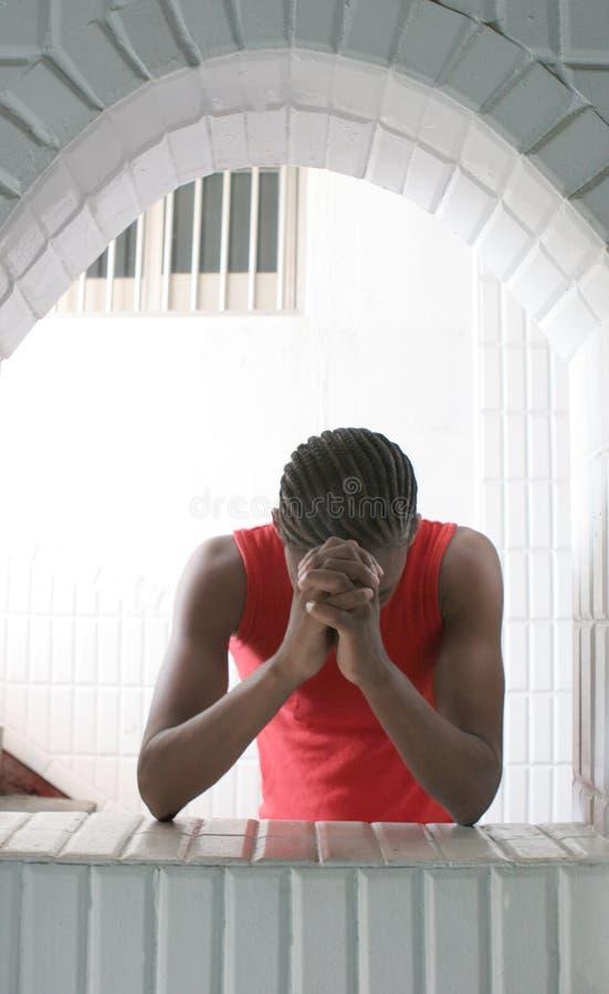 Free Man Praying Royalty Free Stock Photo - 901715