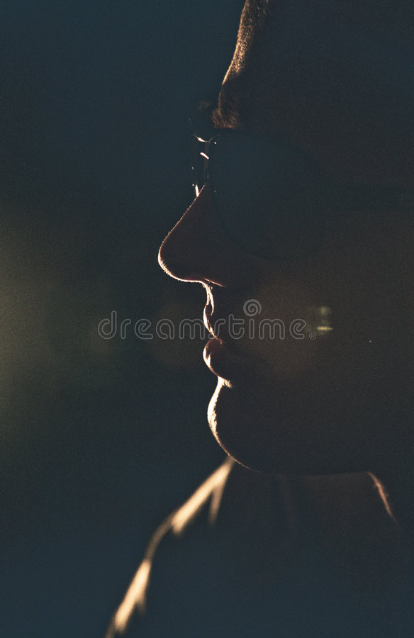 Man Profile Royalty Free Stock Photos