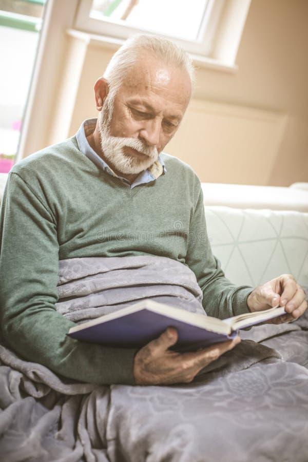 Man Reading book. stock photography