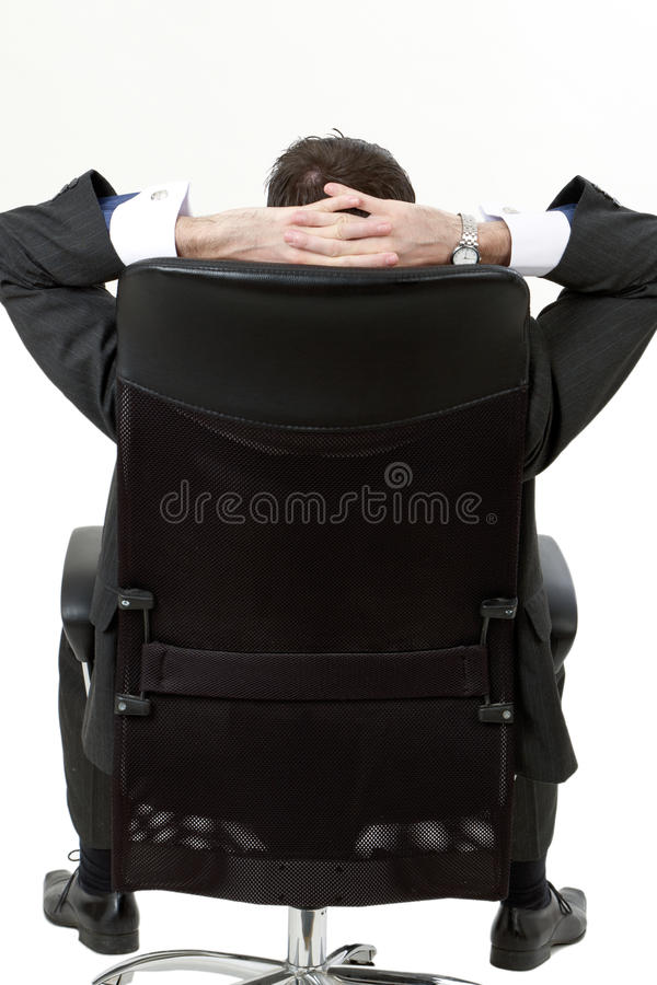 Man relaxing stock images