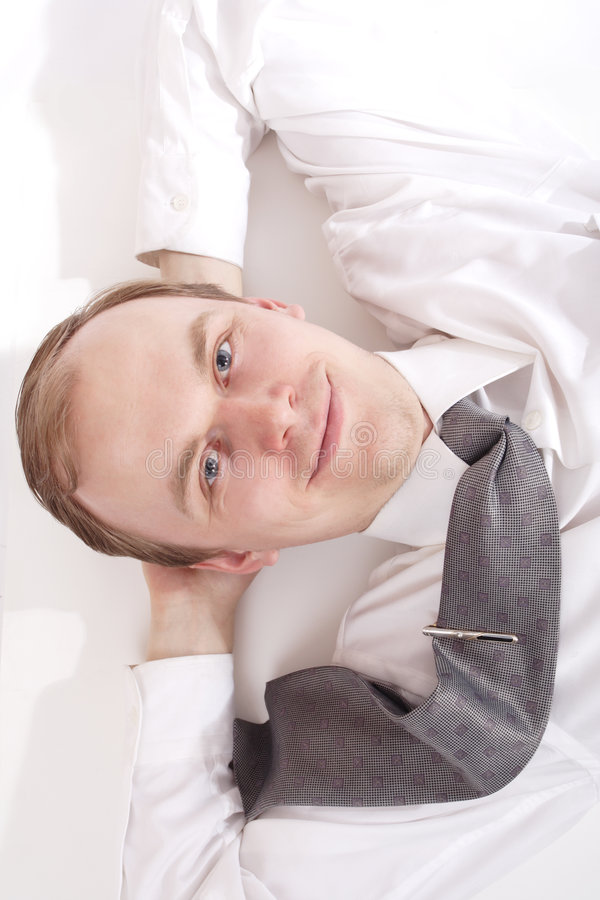 Man rest royalty free stock images