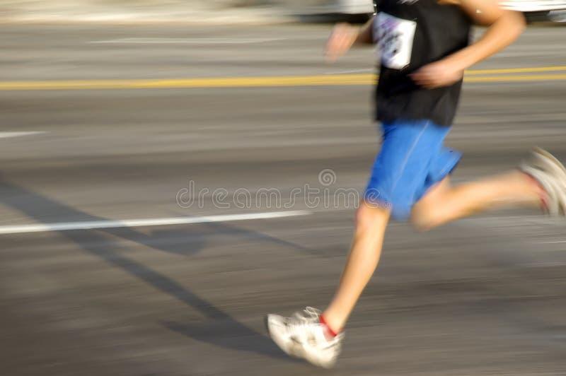 Man running 2 stock photography