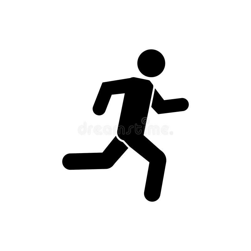 Man running icon vector illustration vector illustration