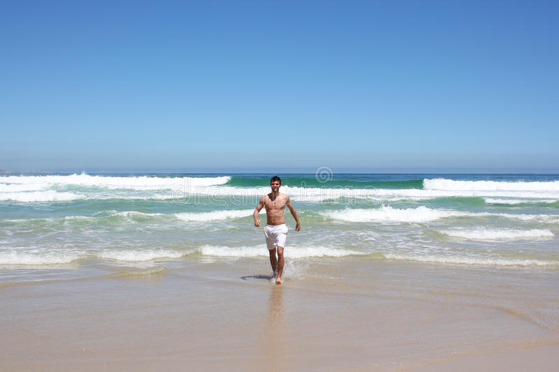 Download Man running out of water stock image. Image of south - 26792785