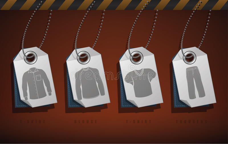 Download Man's Clothing stock vector. Image of shirt, clothes - 26994716