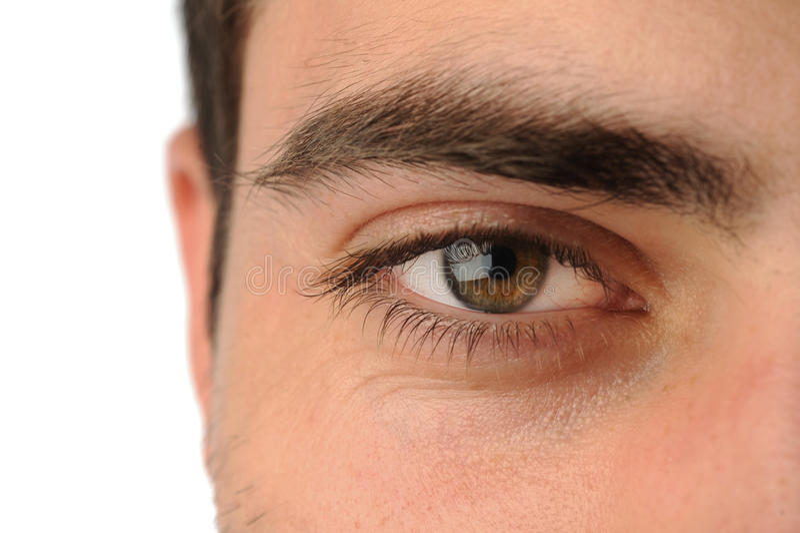 Man's eye royalty free stock images