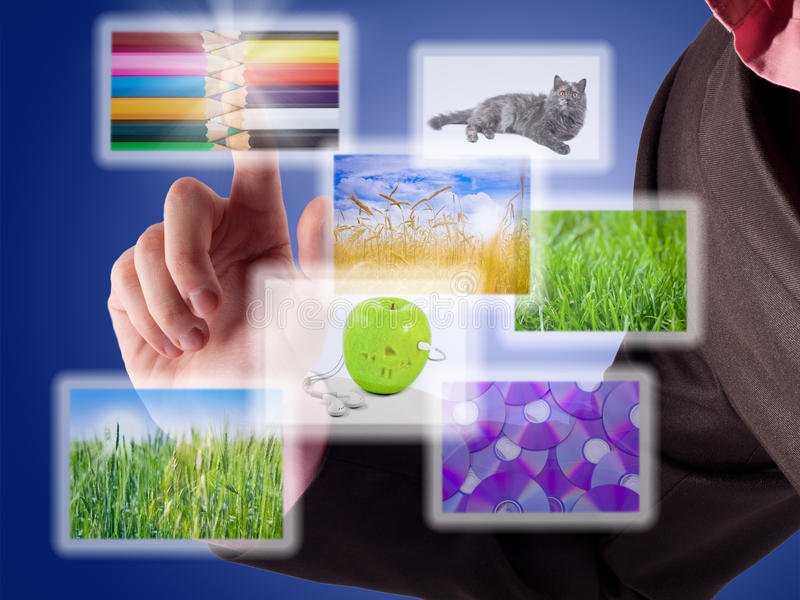 Download Man's Hand Selects Image. Stock Images - Image: 17476924