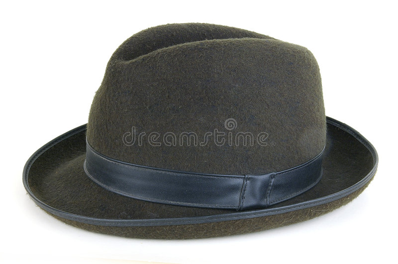 Man's hat. On a light background. Sometimes carry also ladies stock photo