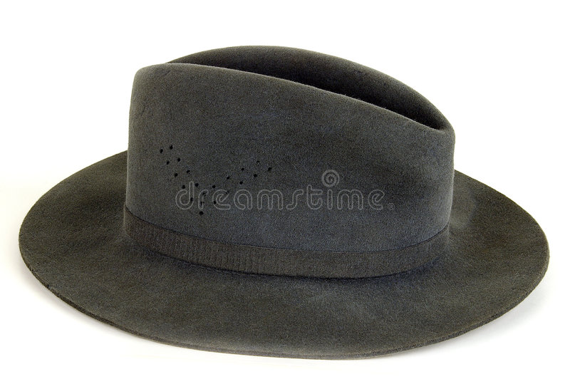 Man's hat. On a light background. Sometimes carry also ladies stock images
