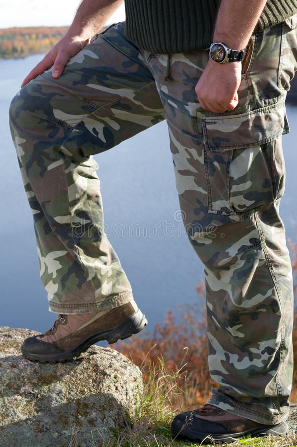 Download Man's hiking fashion stock image. Image of high, male - 27488023